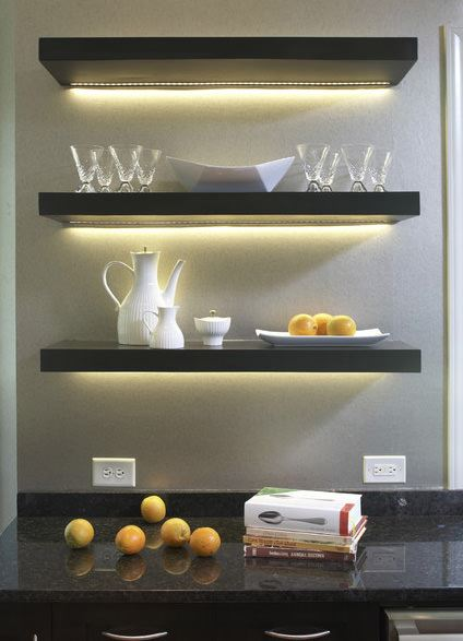 mutfak duvar raf sistemi