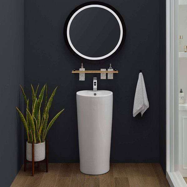 Ayaklı Yeni Tasarım Banyo Lavabo Modelleri 17