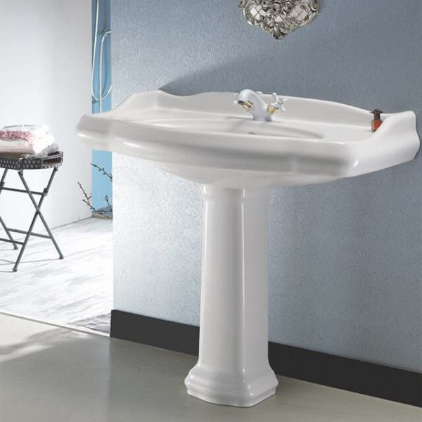 Ayaklı Yeni Tasarım Banyo Lavabo Modelleri 11