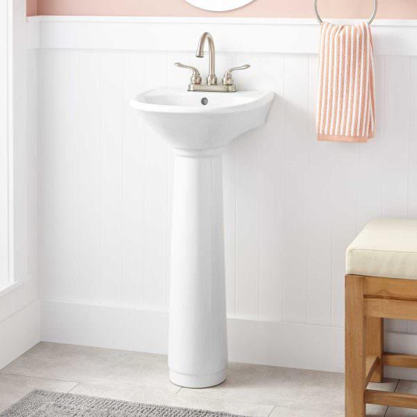 Ayaklı Yeni Tasarım Banyo Lavabo Modelleri 15