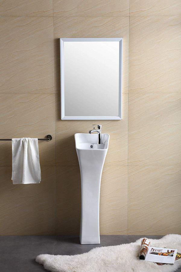 Ayaklı Yeni Tasarım Banyo Lavabo Modelleri 16