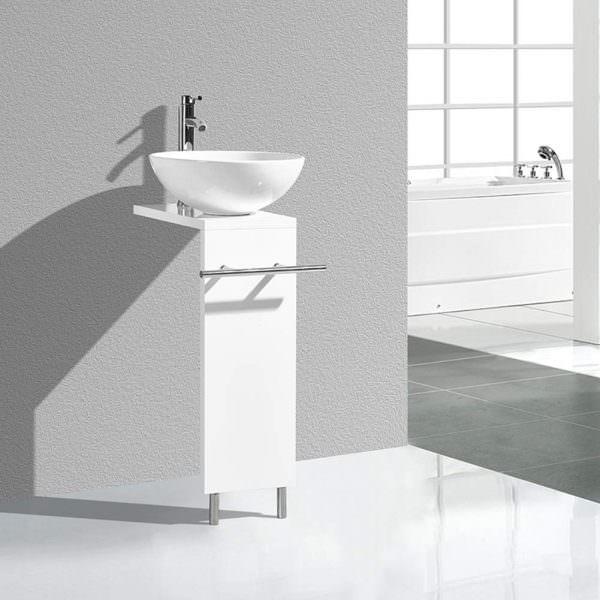 Ayaklı Yeni Tasarım Banyo Lavabo Modelleri 18