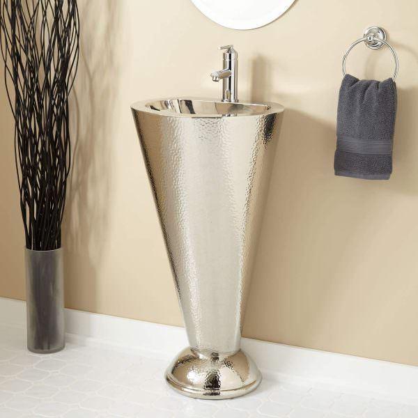 Ayaklı Yeni Tasarım Banyo Lavabo Modelleri 23