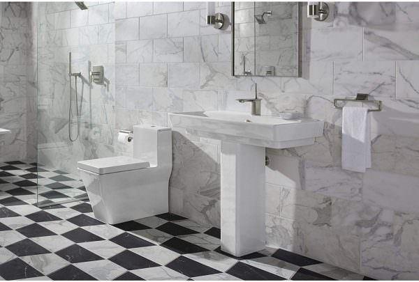 Ayaklı Yeni Tasarım Banyo Lavabo Modelleri 25