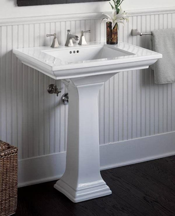 Ayaklı Yeni Tasarım Banyo Lavabo Modelleri 7