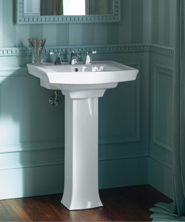 Ayaklı Yeni Tasarım Banyo Lavabo Modelleri 8