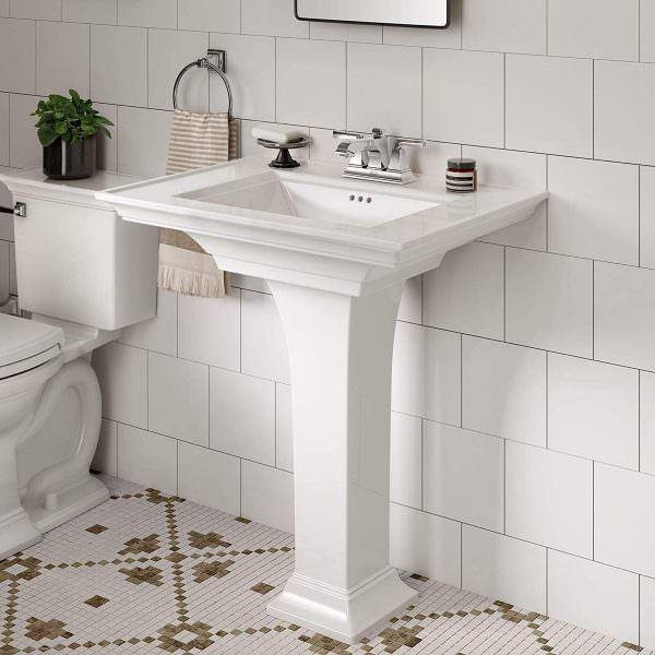 Ayaklı Yeni Tasarım Banyo Lavabo Modelleri 9