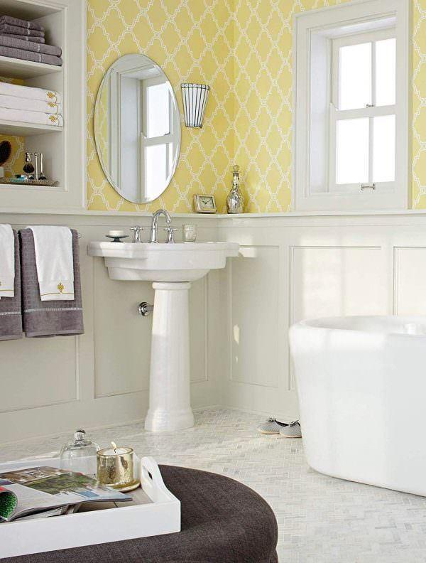 Ayaklı Yeni Tasarım Banyo Lavabo Modelleri 10