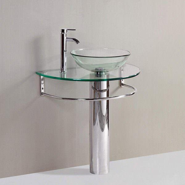 Ayaklı Yeni Tasarım Banyo Lavabo Modelleri 27