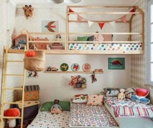 Çocuk Odası Dekorasyonu Ve Ranza Modelleri