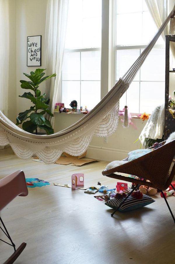 Evde Dinlenmek İçin İlginç Hamak Fikirleri