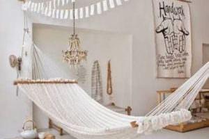 Evde Dinlenmek İçin İlginç Hamak Fikirleri 12