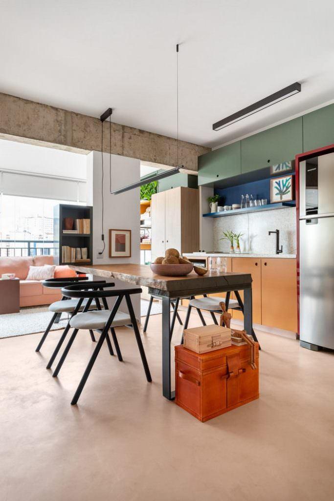 Küçük Stüdyo Daire Dekorasyon Ve Mobilya Fikirleri