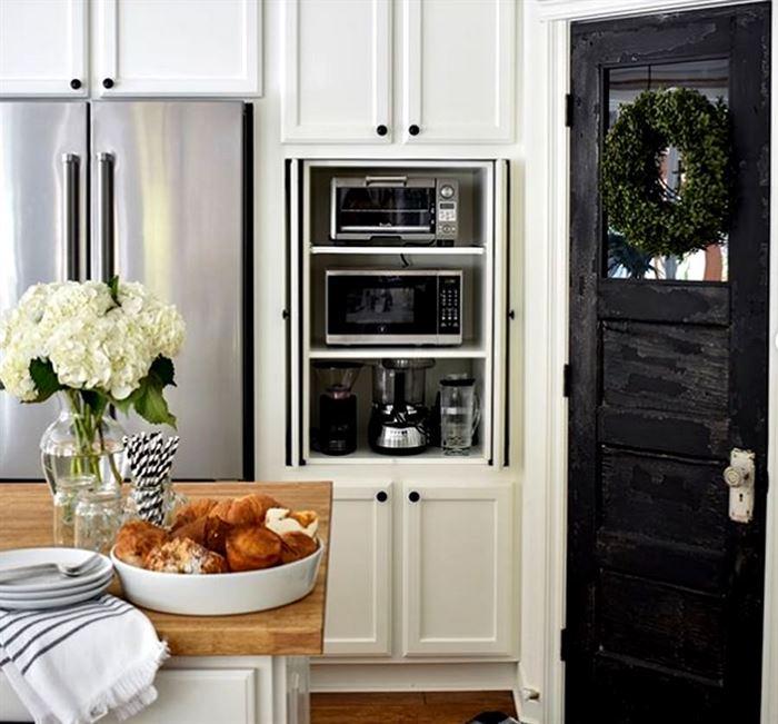 Mutfak Aletlerinizi Gizleyen Bölümler