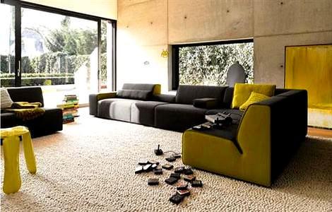 Renkli Koltuk Takımlarıyla Oda Dekorasyonu