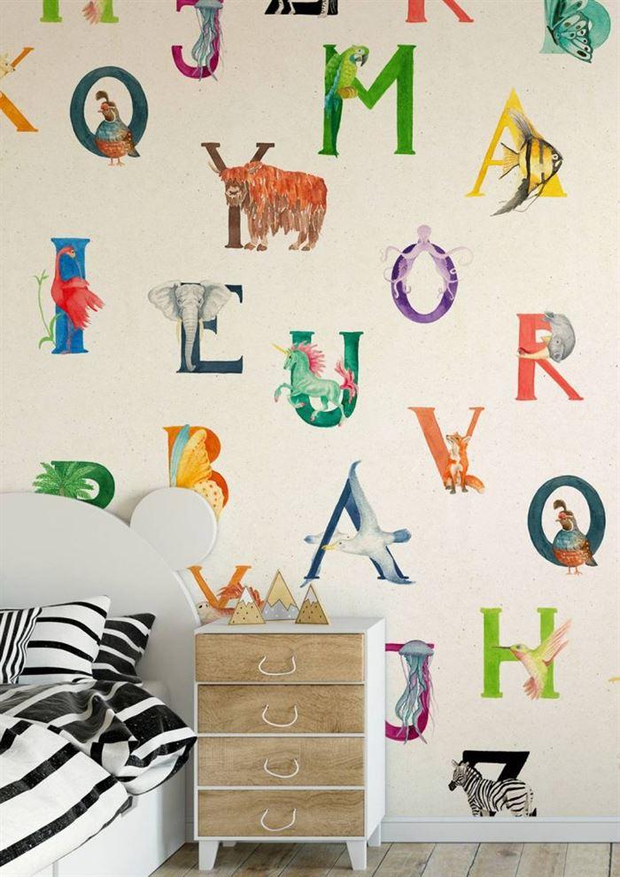 Çocuk Odası Duvar Kağıt Desenleri Ve Renkleri 13