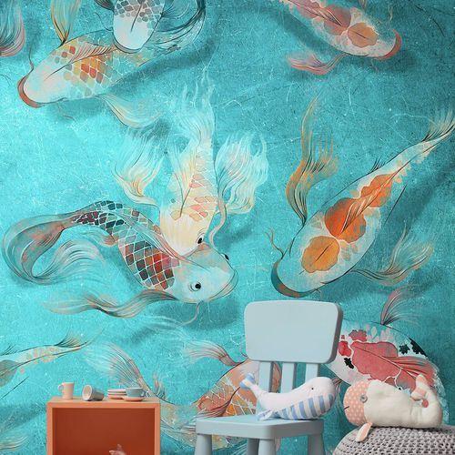 Çocuk Odası Duvar Kağıt Desenleri Ve Renkleri 4