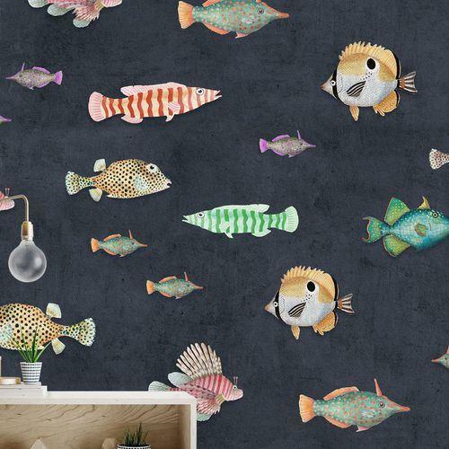 Çocuk Odası Duvar Kağıt Desenleri Ve Renkleri 10