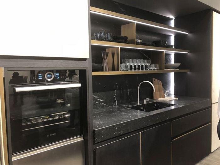 Siyah Mutfak Tezgah Modelleri