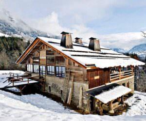 Ahşap Dağ Evi Tasarımı Ve Dekorasyonu