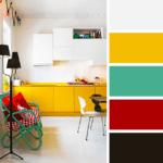 Dekorasyonda Birbirine Uyum Sağlayan Renkler
