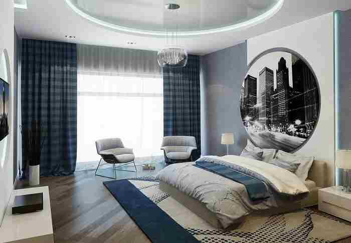 modern 2020 yatak odası dekorasyon
