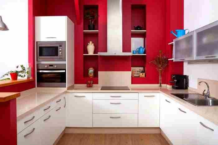 u şeklinde mutfak tezgah modelleri