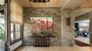 Modern Bir Mekanda Yaratıcı Duvar Sanatı Modüler Tablolar