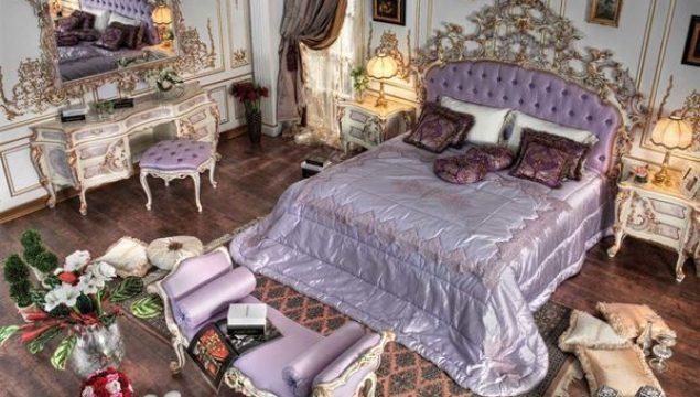 Barok Tarzı Klasik Yatak Odası Dekorasyon Fikirleri