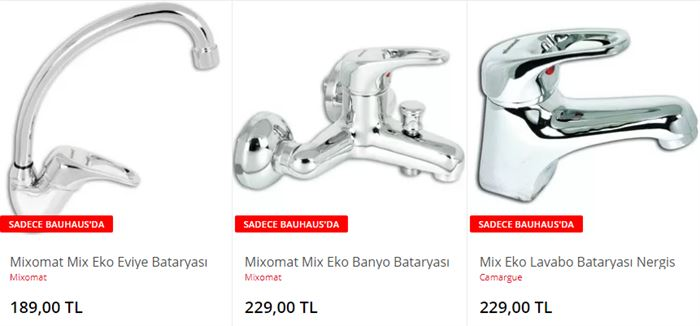Banyo Mutfak Musluk Modelleri