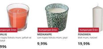 İkea Dekoratif Mum Modelleri Ve Fiyatları