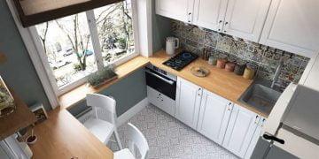 küçük mutfak düzenleme