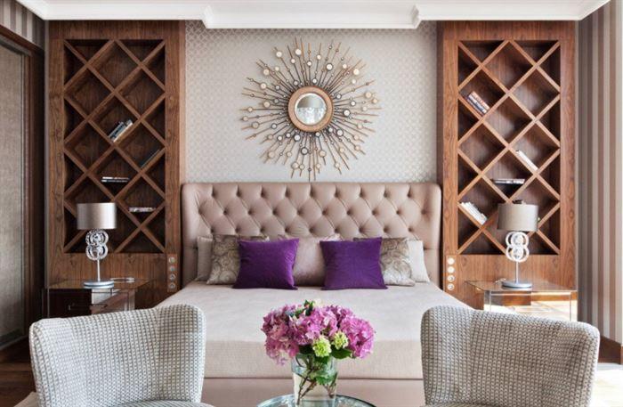 Yatak Odası Dekoratif Duvar Raf