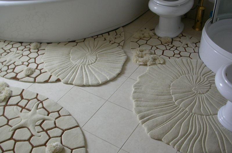banyo paspas halı modelleri