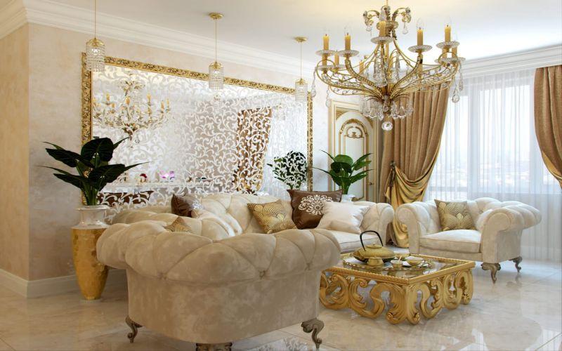 Klasik Oturma Odası