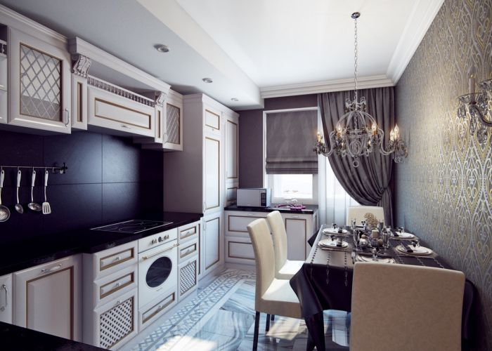 Art Deco Tarzı Mutfak Dekorasyon