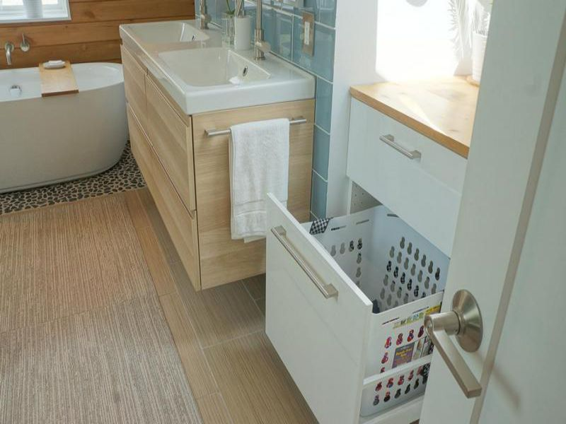 Banyo Depolama Dolap Fikirleri