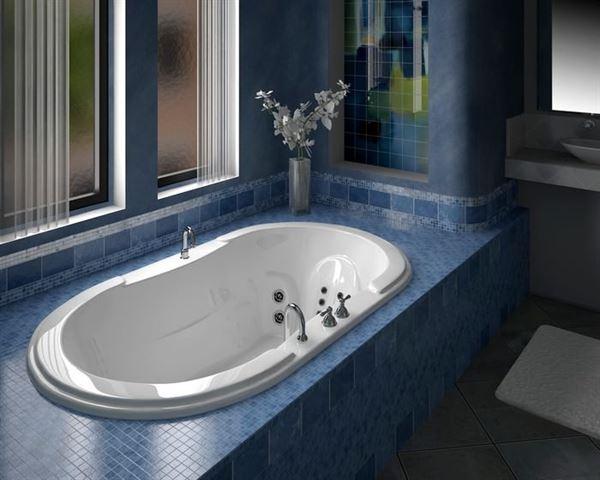 Güzel Banyo Küvet Tasarım Modelleri 1