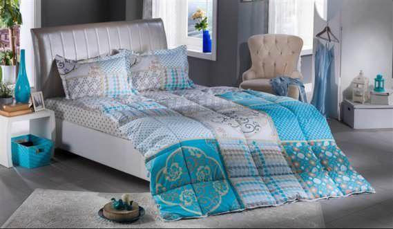 Bellona Çift Kişilik Renkli Modern Uyku Seti Modelleri 2