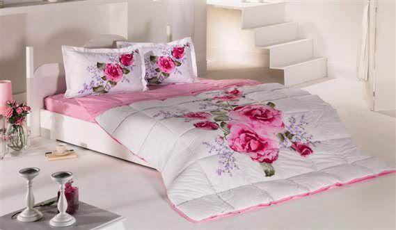 Bellona Çift Kişilik Renkli Modern Uyku Seti Modelleri 3