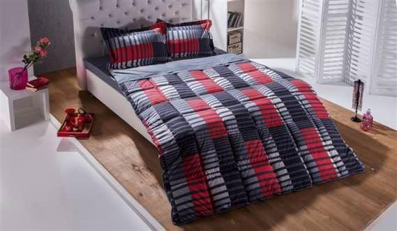Bellona Çift Kişilik Renkli Modern Uyku Seti Modelleri 4