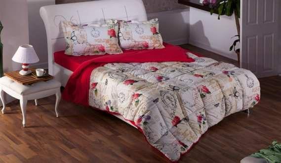 Bellona Çift Kişilik Renkli Modern Uyku Seti Modelleri 7