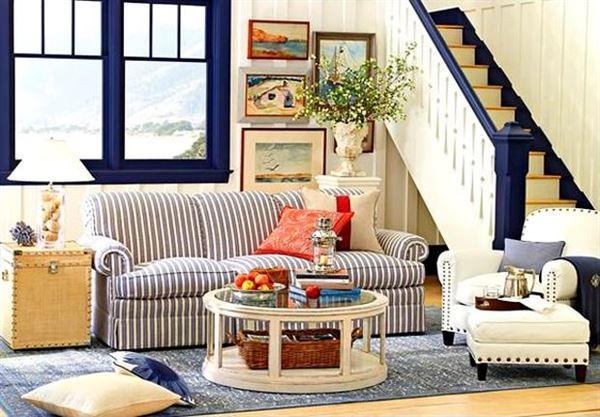 Contry tarz mekan dekorasyonlar for Country cottage living room paint colors