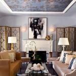 Dekoratif Renkli Oturma Odası Dekorasyon Fikirleri