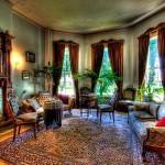 oturma odası misafir odası perde modelleri