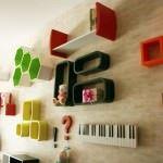 Loyoki Modern Dekoratif Duvar Raf Modelleri