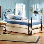 mavi yatak odası renk kombinleri mavi renk yatak odası dekorasyon fikirleri - Marvelous Stunning Comfortable Baby Blue2 150x150
