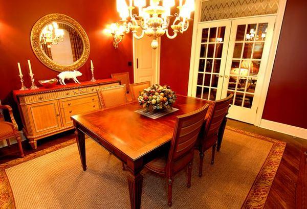 Klasik Yemek Odası Tasarımı 6