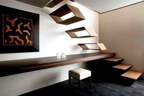 Dekoratif Modern Merdiven Tasarımları 2