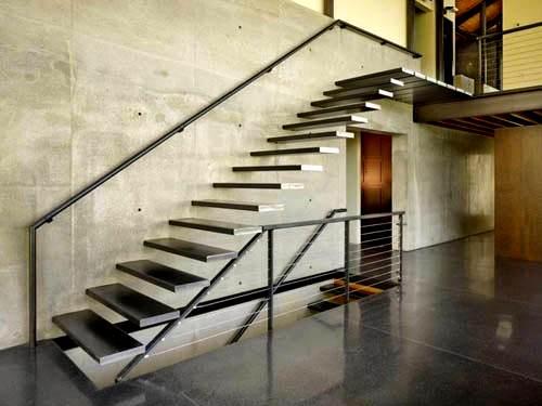 Dekoratif Modern Merdiven Tasarımları 3